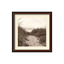 Framed Photography Print- Dune Path by Christine Triebert, 8801445