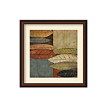 Framed Art Print- Tall Leaves Square I by Patricia Pinto, 8801452