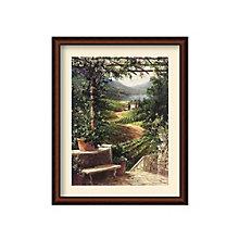 Framed Art Print- Chianti Vineyard by Art Fronckowiak, 8801455