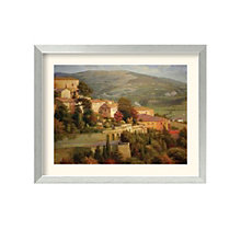 Framed Art Print- Italian Lookout by Steven Ives, 8801456