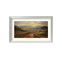 Framed Art Print- Tuscany Splendour by Leon Roulette, 8801459