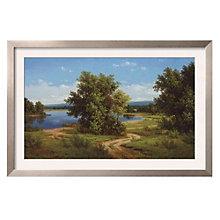 "Framed 39"" x 27"" Silent Stream Print by Slava, ARS-10308"