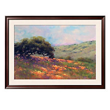 "Framed 43"" x 32"" Poppy Hill Print by Alice Weil, ARS-10312"