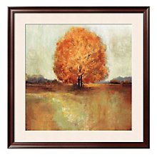 "Framed 33"" x 33"" Field Of Dreams Print by Asia Jensen, ARS-10330"