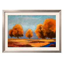 "Framed 43"" x 32"" Fall Plateau Print by Chloe Marie, ARS-10332"