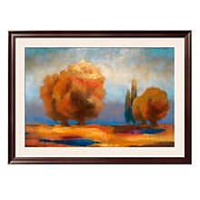 "Framed 43"" x 32"" Fall Scene Print by Chloe Marie, ARS-10333"
