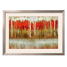 "Framed 43"" x 32"" The Edge Print by Allison Pearce, ARS-10335"