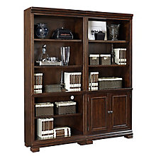"Westley Ten Shelf Bookcase Wall- 75.5""H, 8814001"