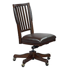 Oakdale Armless Office Chair in Bonded Leather, 8803569