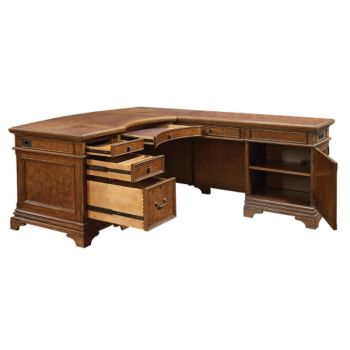 executive kitchen cabinets highland executive l desk 66w 8803661 3621