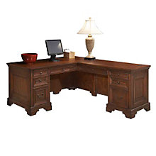 "Windsor Executive L-Desk - 66""W, 8803665"
