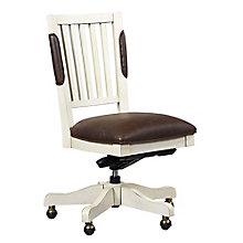 Coronado Armless Bonded Leather Chair, 8804733