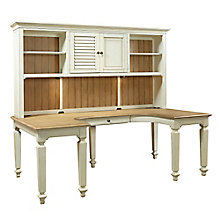 "Coronado U Desk with Hutch - 84""W, 8804898"