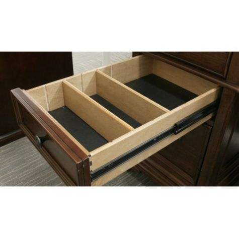 Inside view of utility drawer