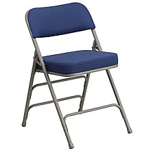 Navy Fabric Folding Chair, 8811686