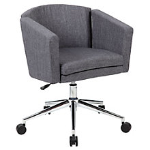 Metro Club Desk Chair in Fabric, 8804338