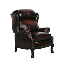 Barcalounger Danbury II Leather Recliner, BAA-7-4199