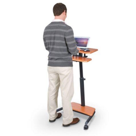 Standing user