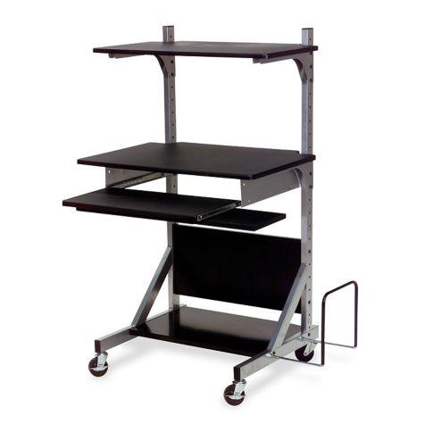 Adjustable and interchangeable shelves
