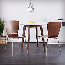 Cadby 2pc Bentwood Side Chairs, 8820814