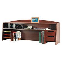 "Mahogany Desktop Organizer - 58""W, BDY-1134-16"