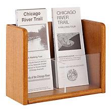 Two Pocket Trifold Brochure Rack, 8804525