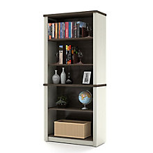 "Prestige Plus Five Shelf Bookcase - 66.8""H, 8804471"