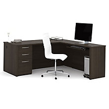 "Reversible 71""W Executive L-Desk, 8804688"