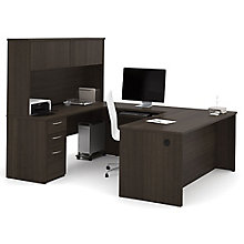 Executive U-Desk with Hutch, 8804697
