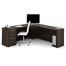 """78""""W Corner Desk Set, 8804698"""