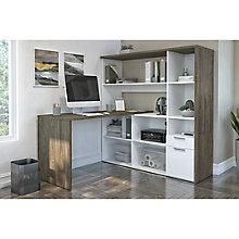 """Home Office Compact L-Desk - 59.5""""W x 59.5""""D, 8828576"""