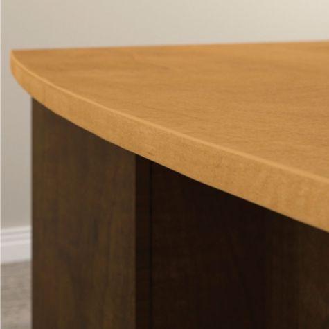 Bow desk detail