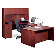 Embassy U-Desk with Hutch, OFG-UD0039