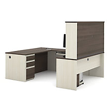 Prestige Plus Reversible U-Desk with Hutch, 8828563