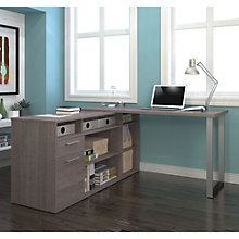 "Solay L-Shaped Desk - 60""W, 8807750"