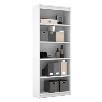 Universal Five Shelf Bookcase Bes 65715 78 Officefurniturecom