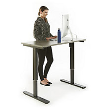 "Adjustable Height Table Desk - 48""W, 8825814"
