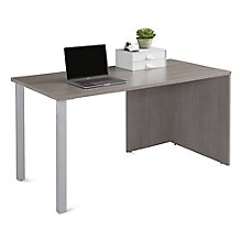"Table Desk with Metal Legs - 60""W, 8825815"