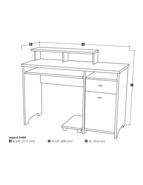 Place the CPU Stand Under the Desk or on the Side