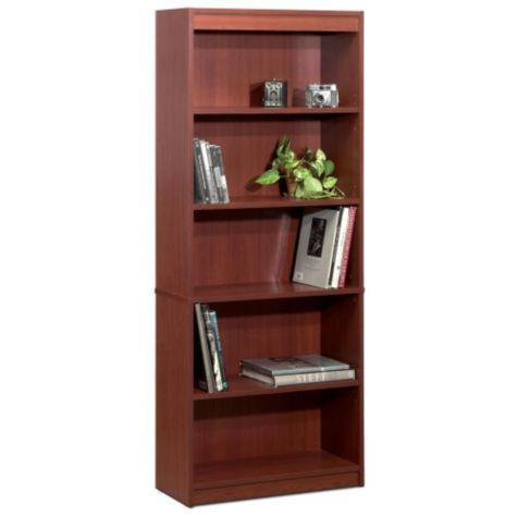 Bookcase shown in Bordeaux