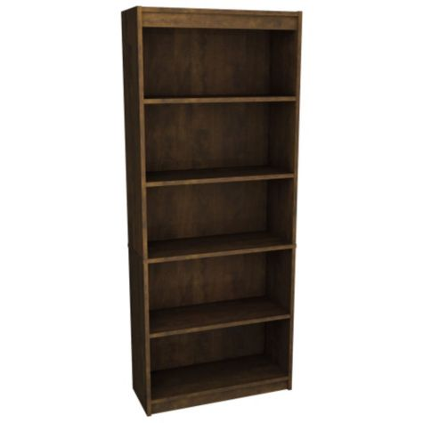 Bookcase shown in Chocolate