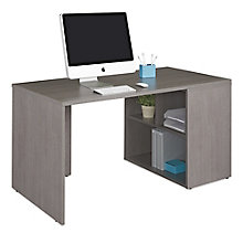 "Compact Desk With Storage - 60""W, 8825621"