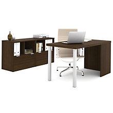 "i3 Metal Leg Desk and Storage Unit Set - 60""W, 8802191"