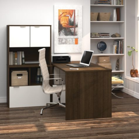 Tuxedo Shown in a Home Office