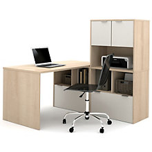 "i3 Table Desk With Hutch and Storage - 60""W, 8802194"
