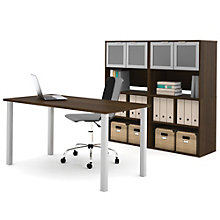 i3 Table Desk With Two Storage Cases, 8802199