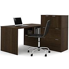 """i3 Solid Desk With Storage Set - 60""""W, 8802202"""