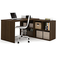 "i3 L-Shaped Desk And Cubby Workstation - 60""W, 8802208"