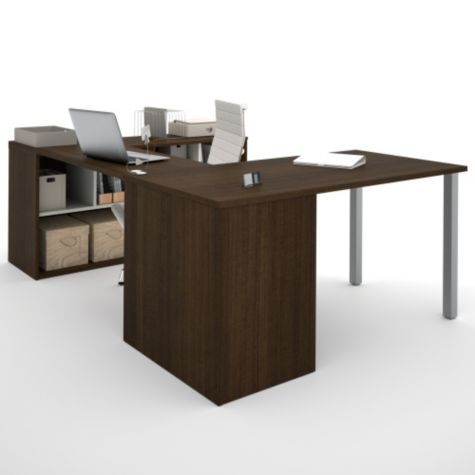 View of Desk Corner in Tuxedo