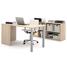 i3 Metal Leg Desk With Two Storage Units, 8802211